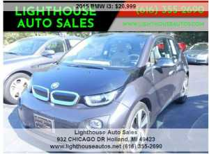 2015 BMW I3 ELECTRIC  W/ RANGE EXTENDER