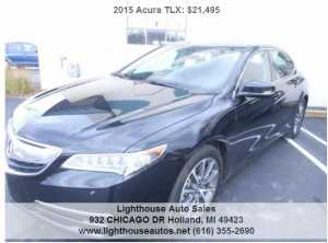 2015 ACURA TLX ALL WHEEL DRIVE W/ TECH PACKAGE