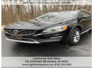 2018 VOLVO V60 CROSS COUNTRY AWD W/ MOONROOF, LEATHER