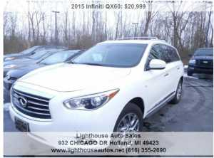 2015 INFINITI QX60 ALL WHEEL DRIVE W/ 3RD ROW SEATING