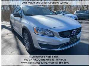 2018 VOLVO V60 CROSS COUNTRY AWD W/ NAVI MOONROOF LEATHER