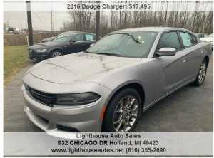 2016 DODGE CHARGER ALL WHEEL DRIVE