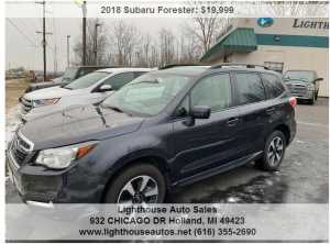 2018 SUBARU FORESTER ALL WHEEL DRIVE W/ PANORAMIC MOON ROOF