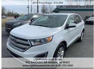 2018 FORD EDGE AWD SEL W/ PANORAMIC MOONROOF