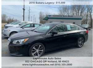 2016 SUBARU LEGACY ALL WHEEL DRIVE LIMITED